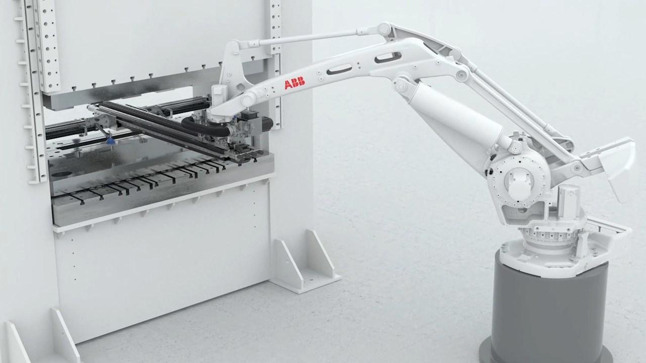 So schnell wie noch nie: neue robotergestützte Lösung von ABB zur Pressenautomatisierung