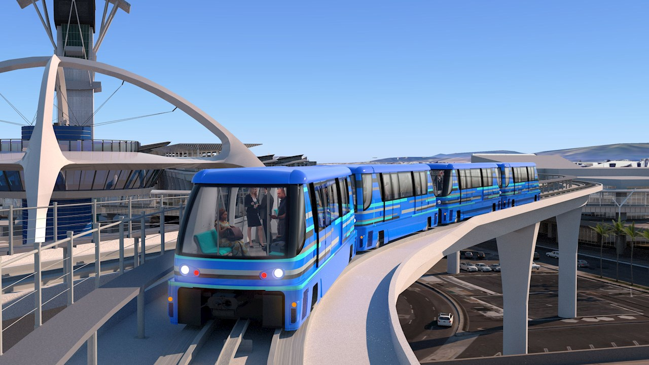 ABB provides electrical reliability for Automated People Mover at Los Angeles International Airport