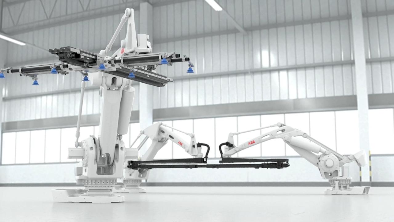 So schnell wie noch nie: neue roboter-gestützte Lösung von ABB zur Pressenautomatisierung