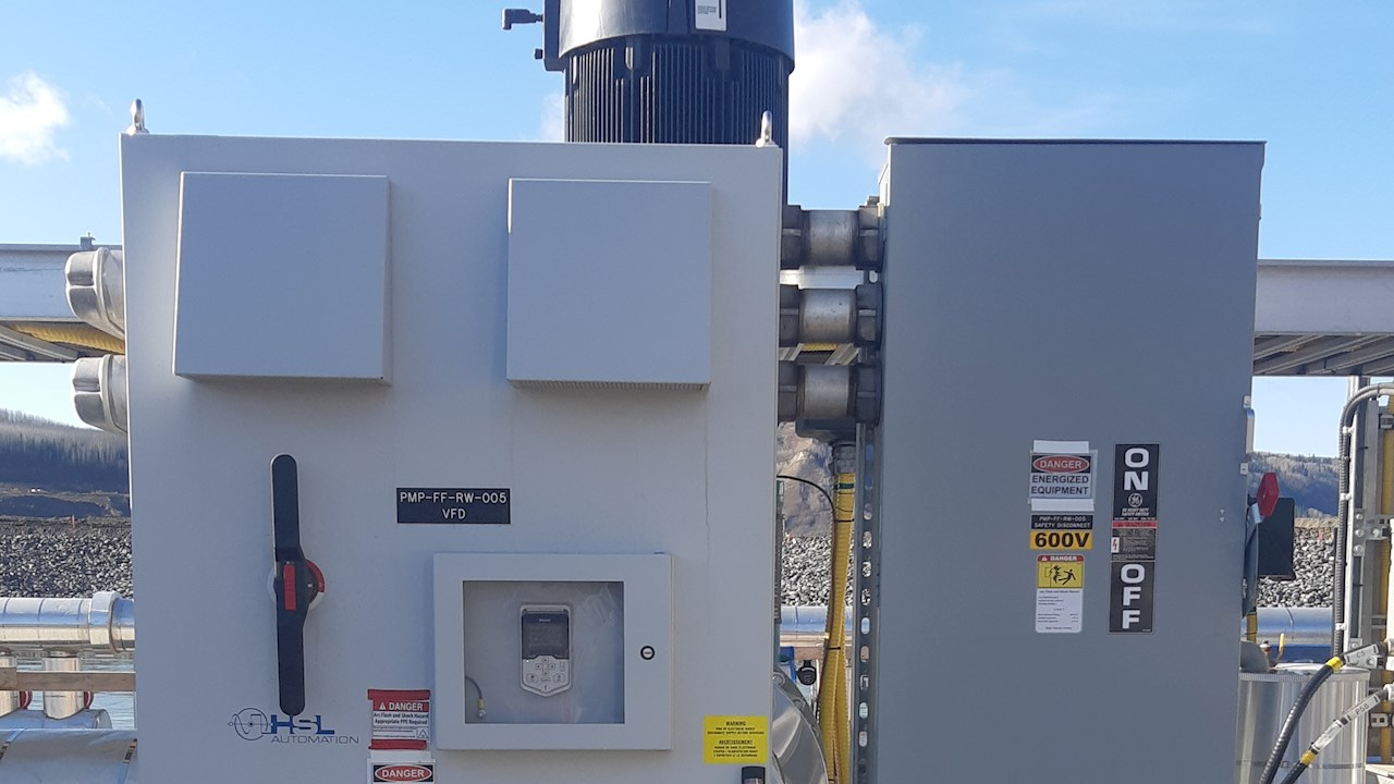 ABB partners with HSL Automation to build an integrated electrical solution for the temporary fishway at the Site C project in Northern BC
