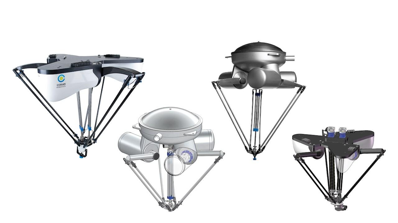 Codian delta robots