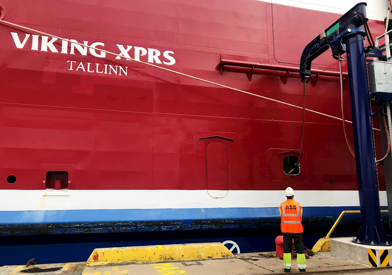 ABB Shore Connection for Viking XPRS