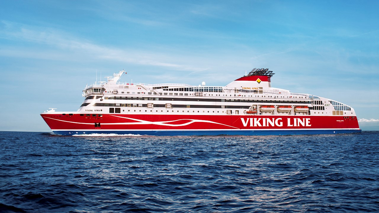 ABB delivers sustainable shore connection technology for Viking Line's high-speed ferry