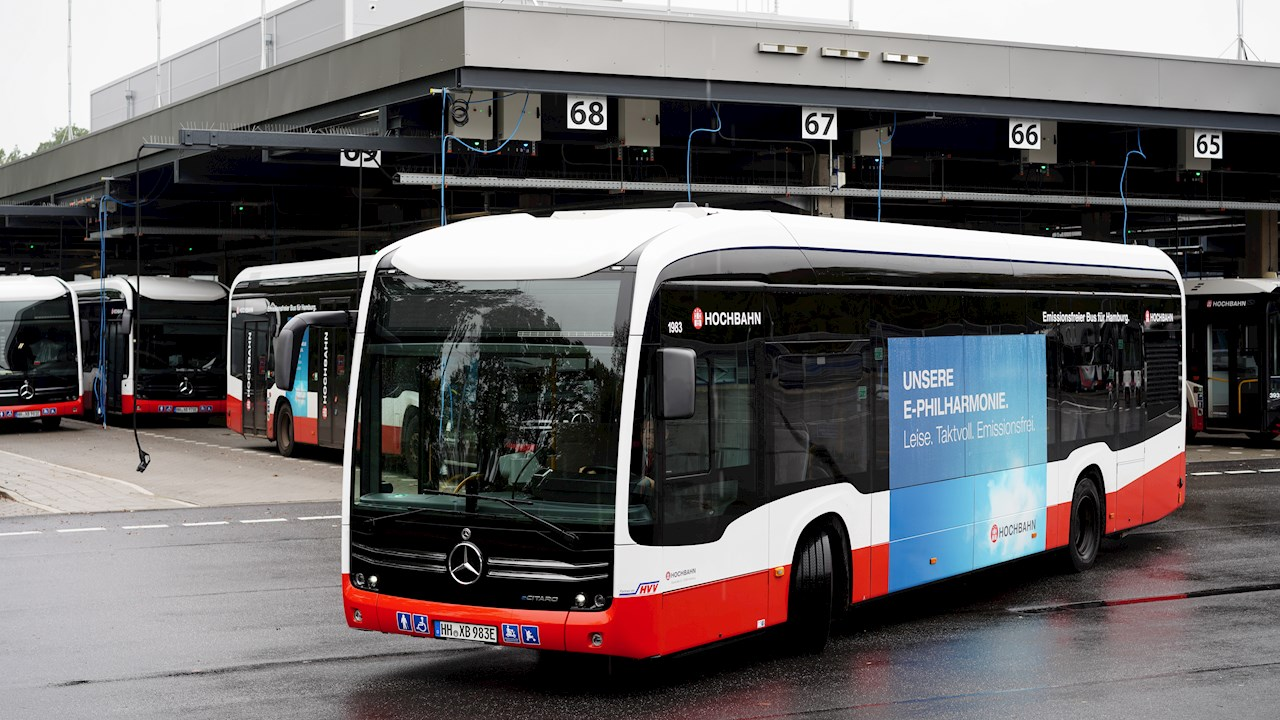 ABB technology drives the e-bus expansion in Germany