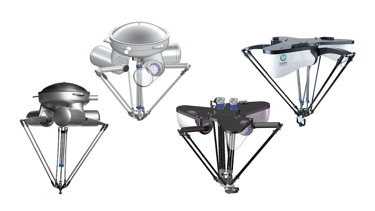 ABB enriquece portfólio de robôs industriais de alta velocidade com a aquisição da Codian