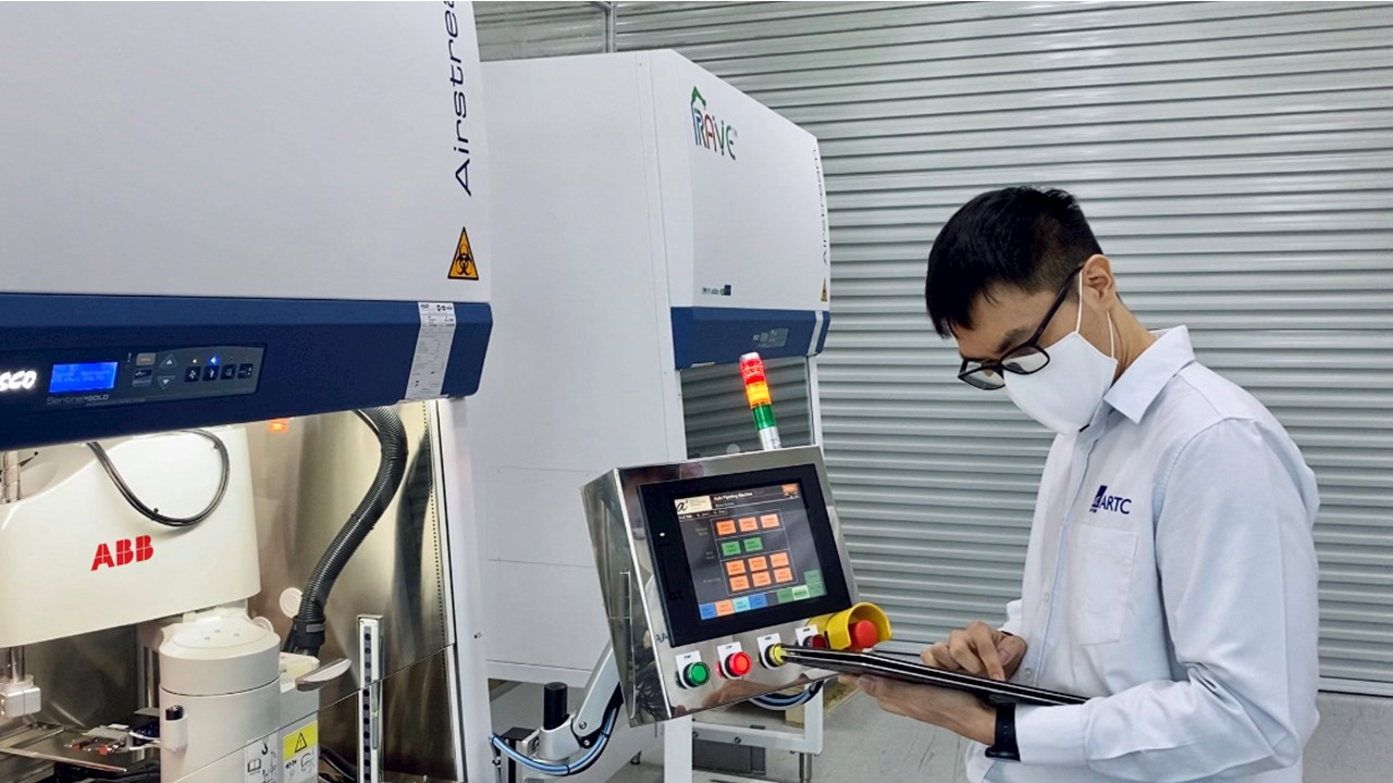 ABB robots accelerate COVID-19 testing in Singapore