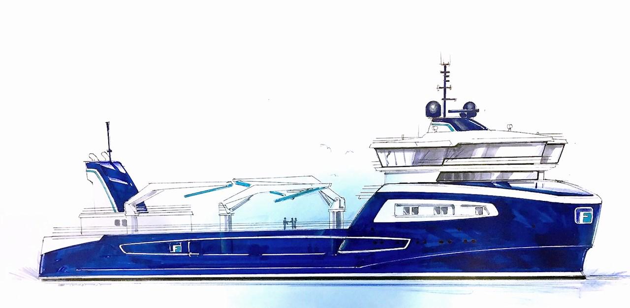 ABB leverer hybrid kraftsystem til FrøyGruppens nye brønnbåt.