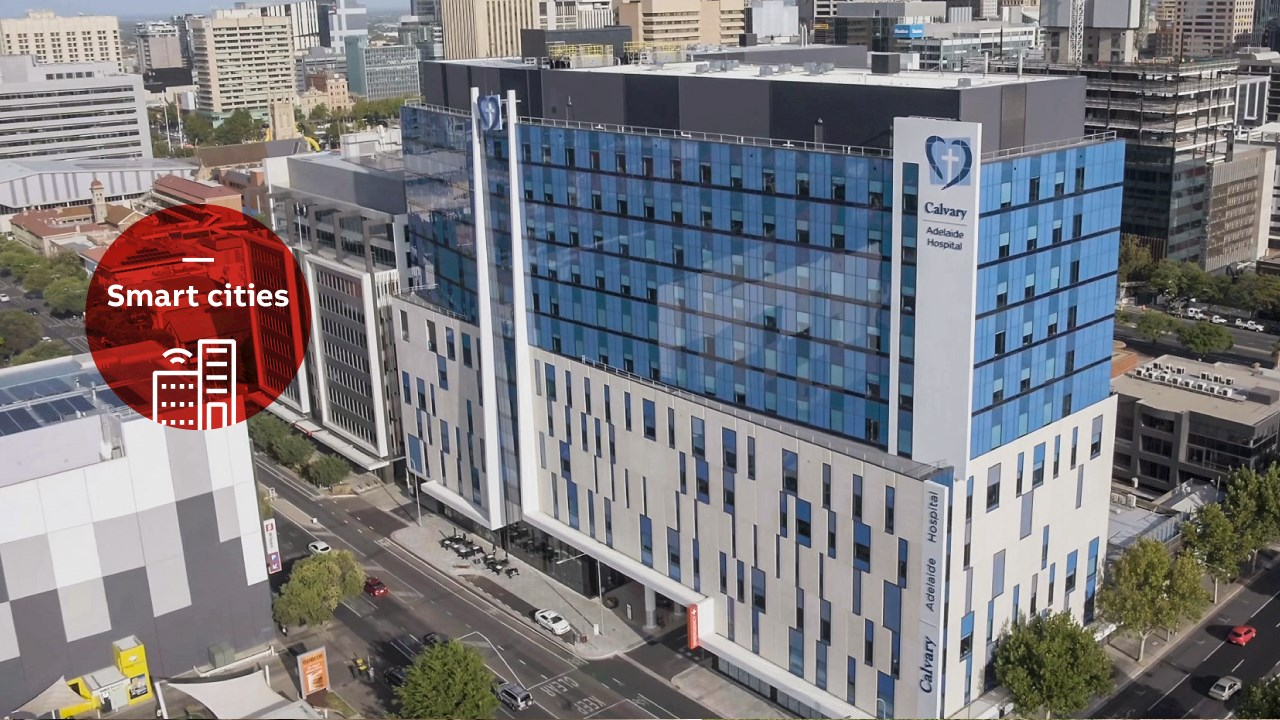 Smart building solutions from ABB bring energy efficiencies to hospitals