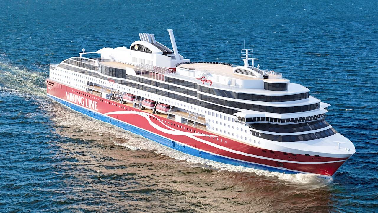 Viking Line vahvistaa vihreää merenkulkua Azipod®-potkurikäyttöjärjestelmällä