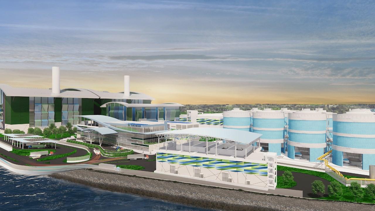 Singapurs nationale Wasserbehörde PUB beauftragt ABB mit Automatisierung von weltgrösstem Membranbioreaktor