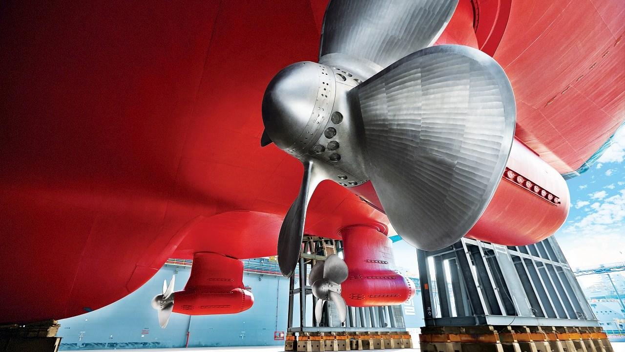 ABB stattet neue LNG-Tanker-Flotte mit eisbrechenden Azipod®-Antrieben aus