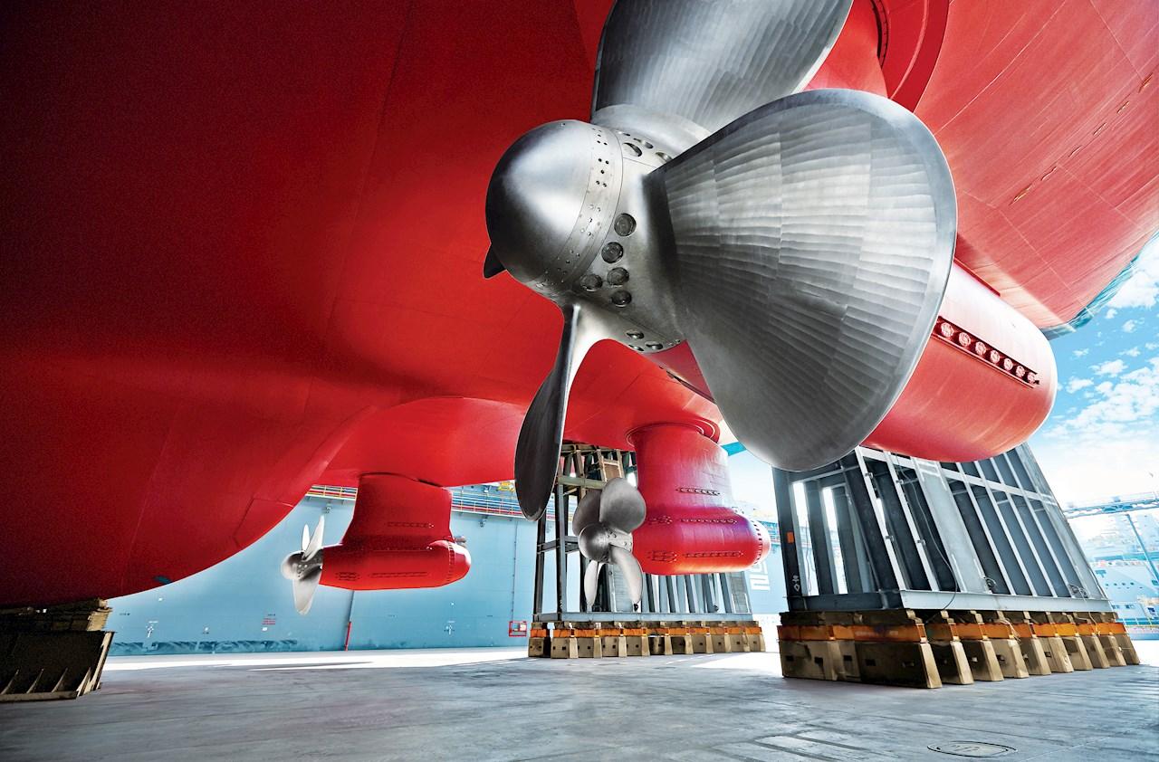 Hver LNG-tanker får tre Azipod-enheter på tilsamen 51MW.