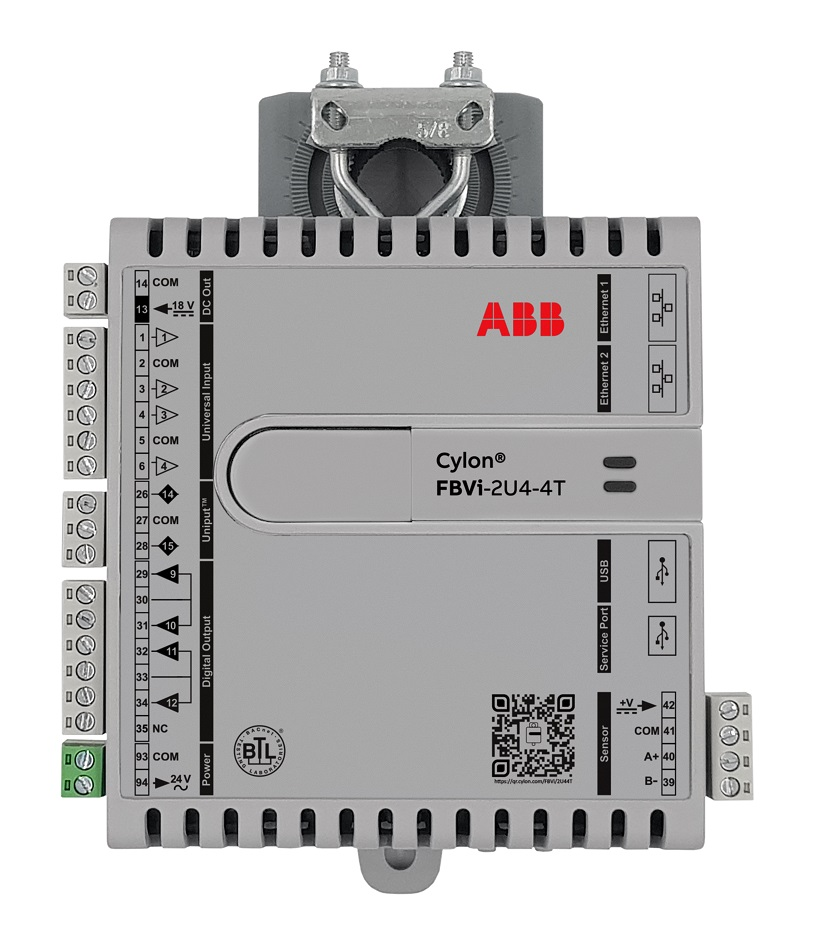 Cylon's FLXeon, a connected IP controller line that includes the FBXi-X256 and the FBVi-2U4-4T