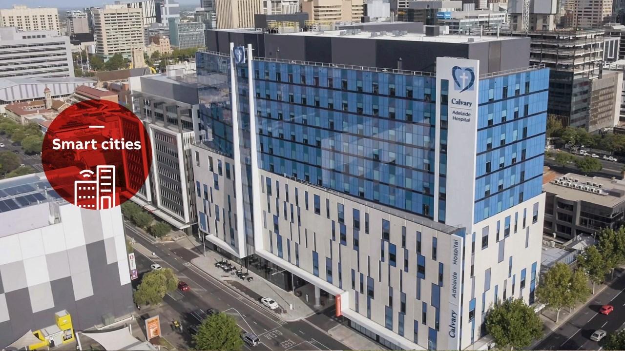 Išmanūs ABB pastatų sprendimai  ligoninėse