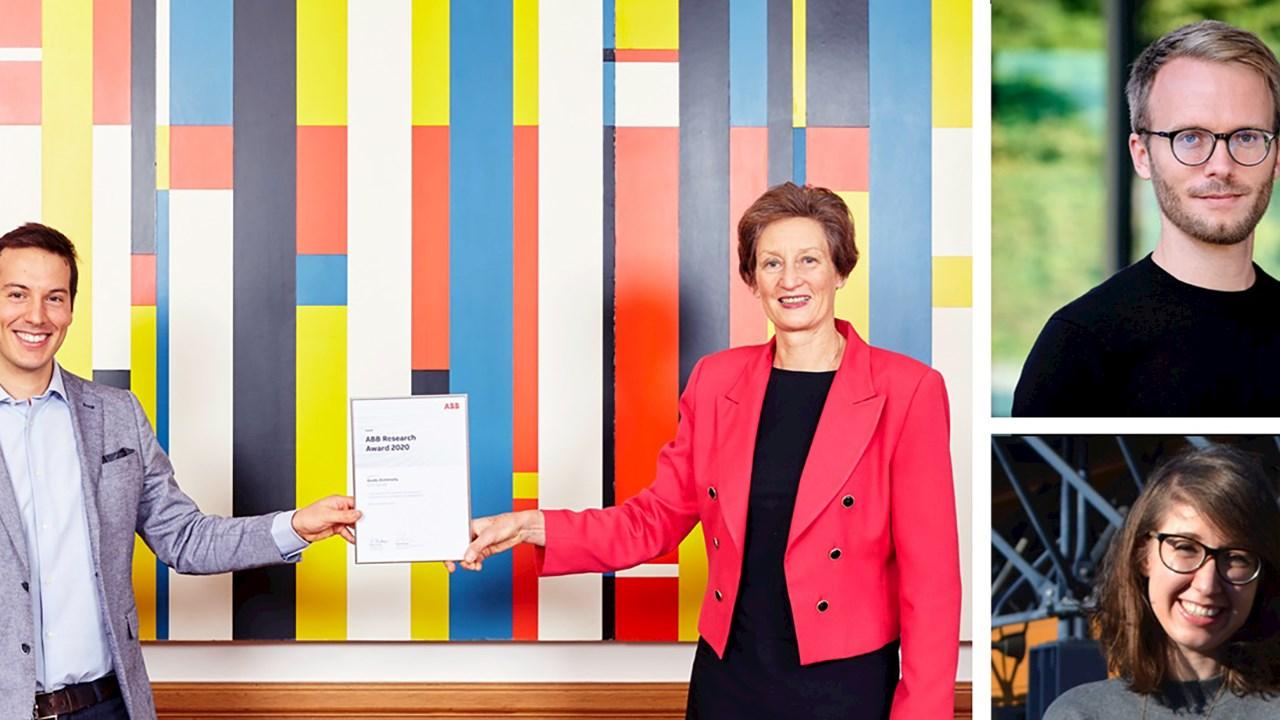 ABB distingue des jeunes chercheuses et chercheurs de l'EPFZ et de l'EPFL