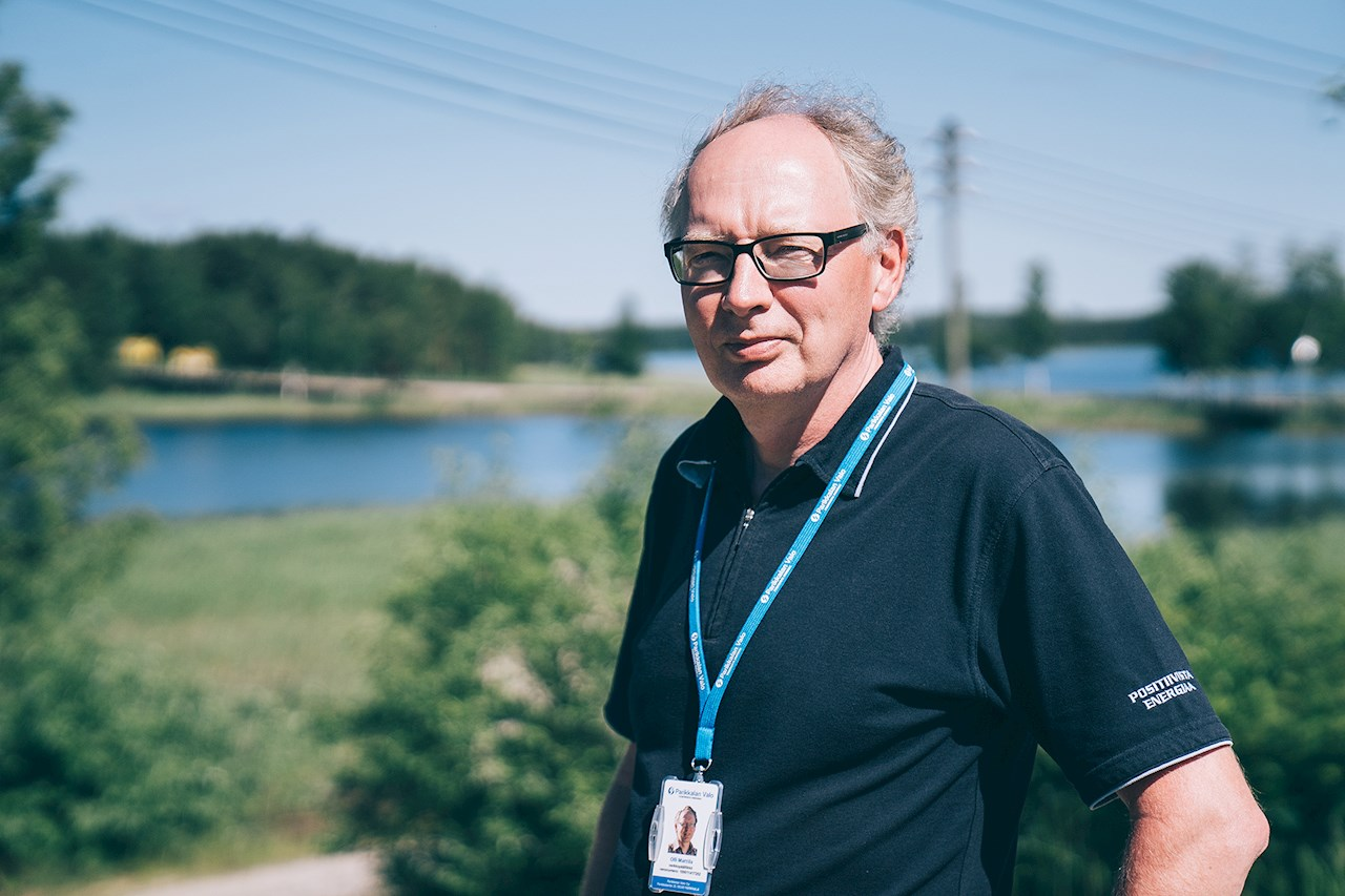 Olli Mattila is convinced about the benefits of ABB's SSC600 solution for protection and control. He is already planning the renewal of the next substation.