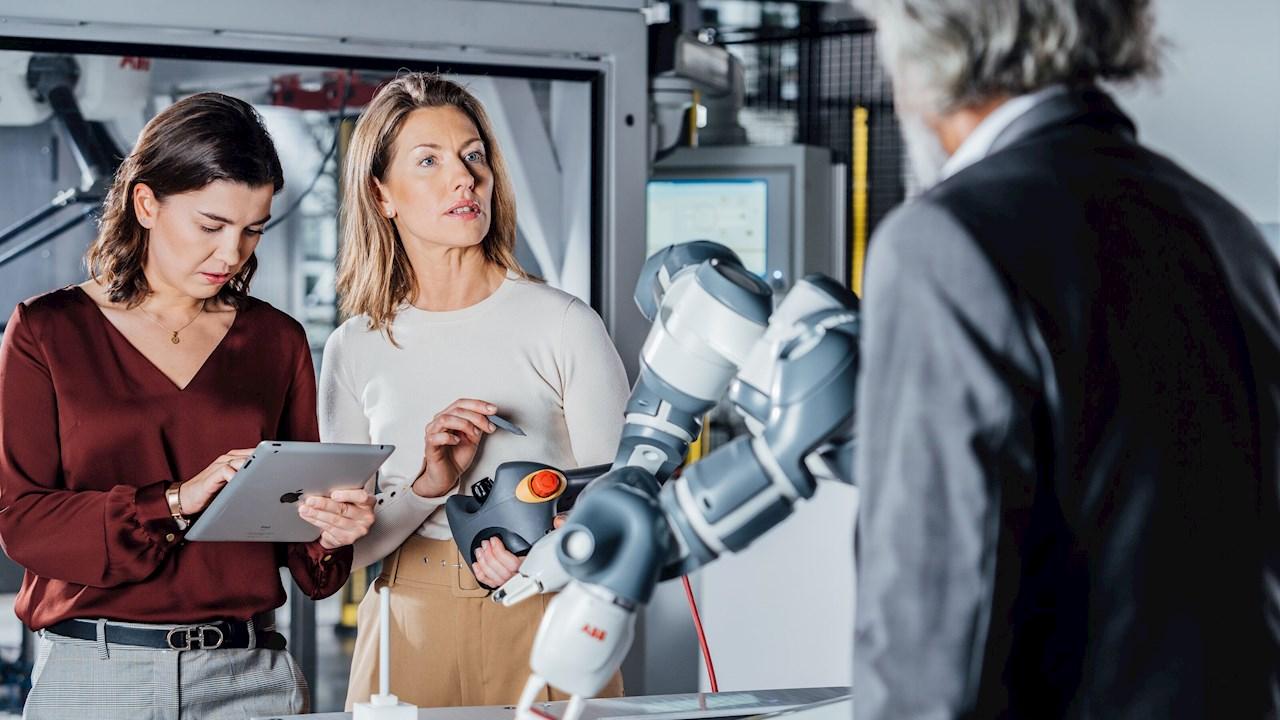ABB Bulgaria and AI University Lab launch a training platform for robotics and e-mobility