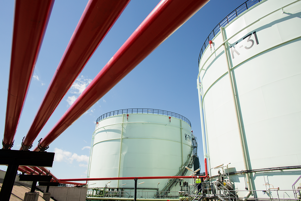 Neste's Porvoo refinery processes approximately 10.5 million tons of crude oil every year, or 206,000 barrels per day.