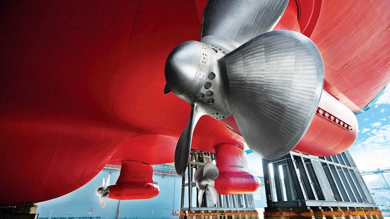 ABB Azipod® 쇄빙 추진 시스템 - 신규 건조 LNG 운반선에 공급