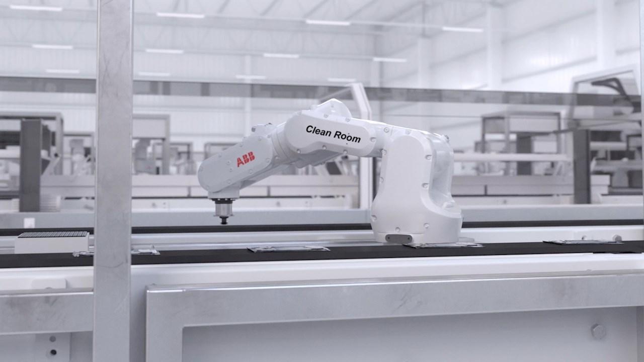 ABB setzt neue Maßstäbe bei der robotergestützten Automatisierung in Reinräumen