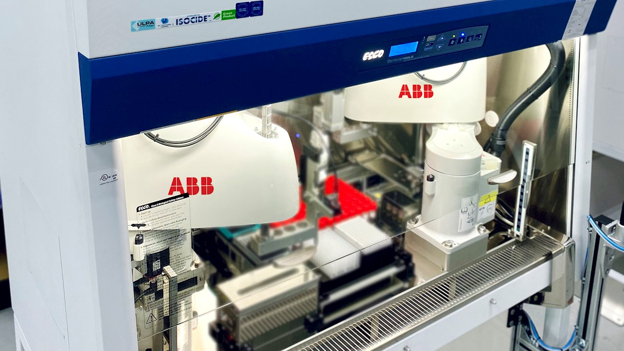 ABB SCARA robots help Singapore to step up the rate of COVID-19 testing