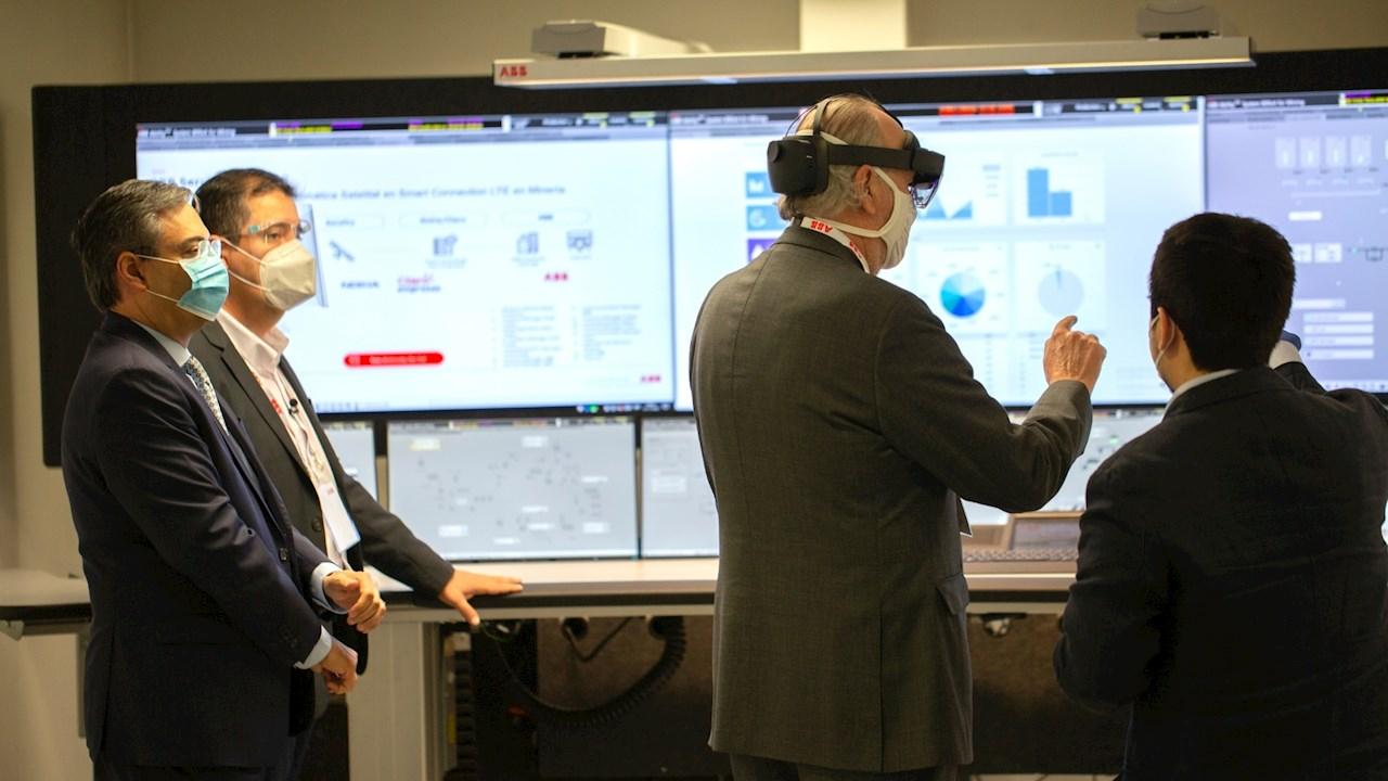 ABB junto a Claro y Nokia realizan primeras pruebas de telemática satelital en Chile para Minera Gold Fields
