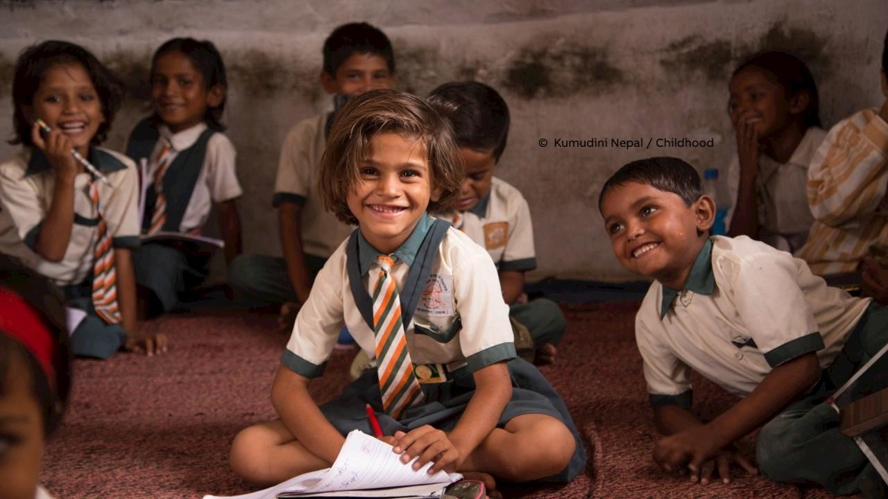 ABB spendet für die World Childhood Foundation