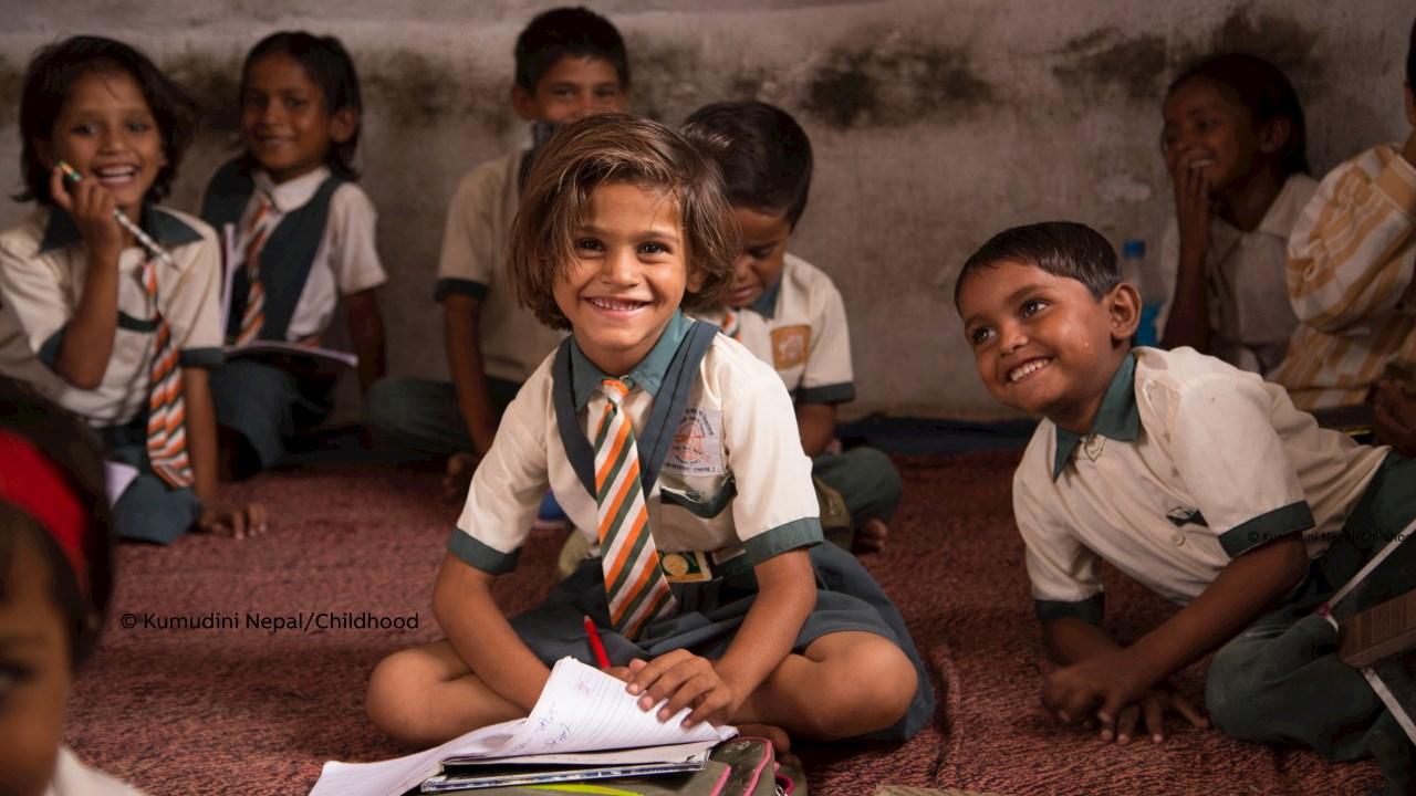 Δωρεά της ΑΒΒ στο Παγκόσμιο Ίδρυμα για την Παιδική Ηλικία