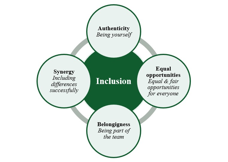 Figure 2: Four aspects of inclusion