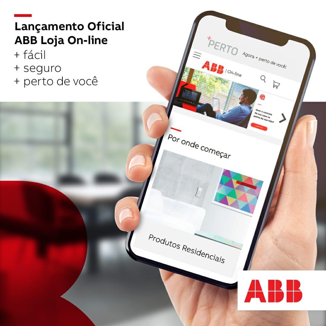 Acesse a ABB Loja Online e compre produtos com a qualidade ABB diretamente dos distribuidores credenciados ABB: loja.abb.com.br