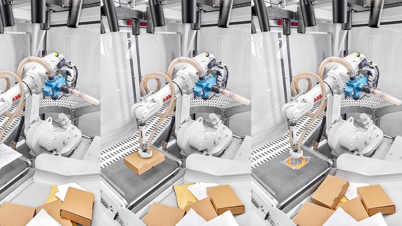 ABB e Covariant insieme per realizzare soluzioni robotiche con intelligenza artificiale