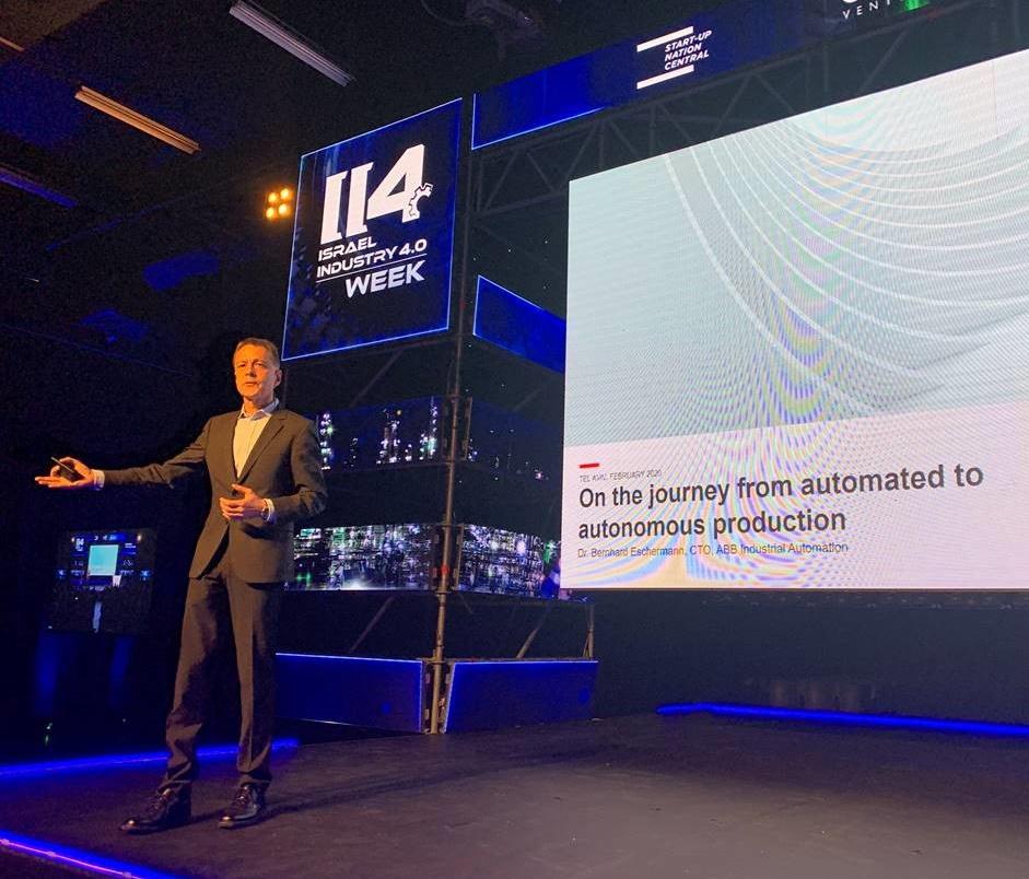 Dr. Bernhard Eschermann, CTO, ABB Industrial Automation