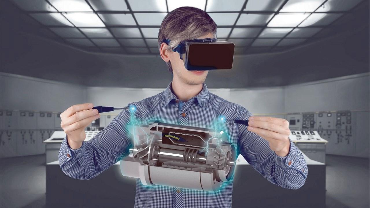 01. Los humanos y las máquinas están trabajando juntos, en una colaboración cada vez más estrecha. Las herramientas de realidad virtual apoyan las decisiones y facilitan el acceso a la información en aplicaciones tan diversas como el mantenimiento de campo y el diseño de productos