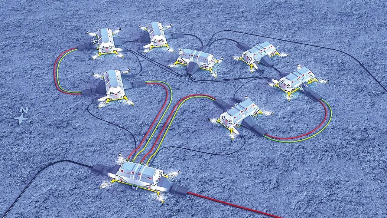 01 Imagen artística de una instalación submarina de energía y bombeo obtenida de un caso práctico de Equinor.