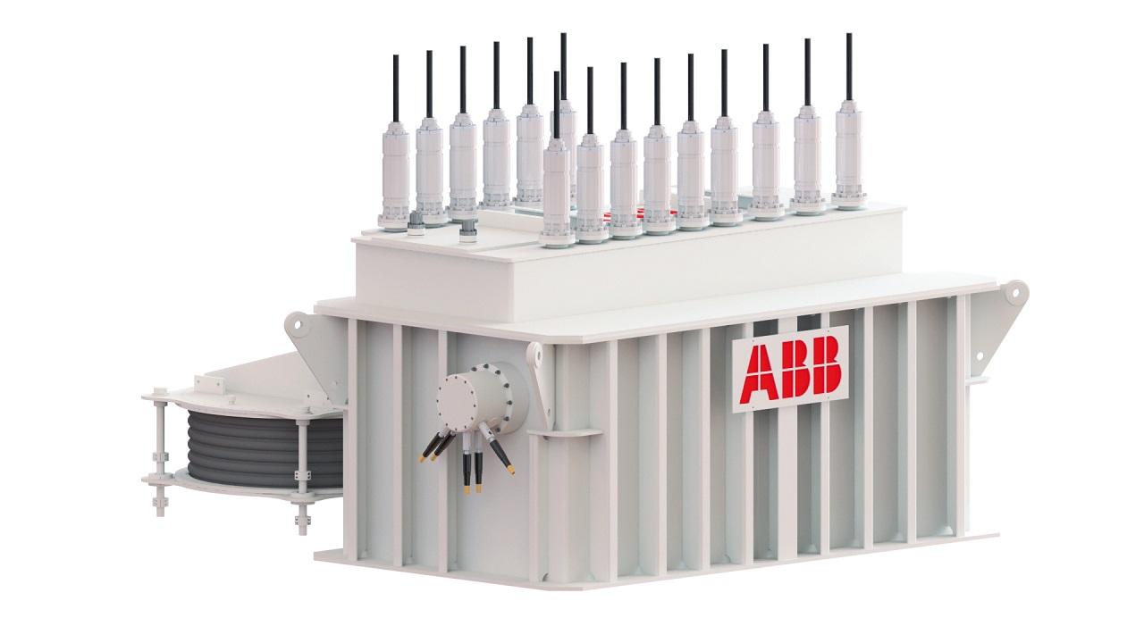 05 La aparamenta modular se muestra con una configuración de cuatro alimentadores. La aparamente de ABB con distribución de energía LFAC 2/3 Hz permite salvar distancias muy grandes.