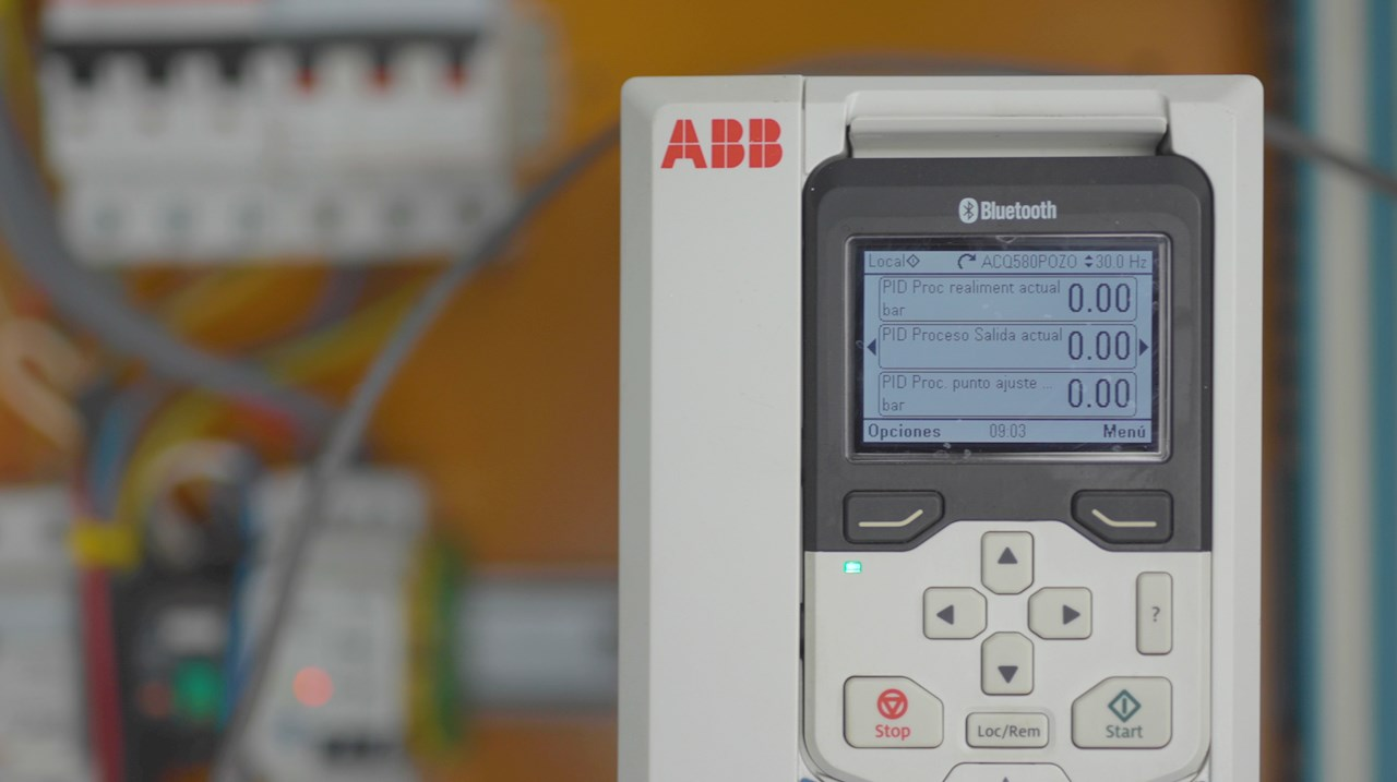 Variador de Frecuencia ACQ580 de ABB