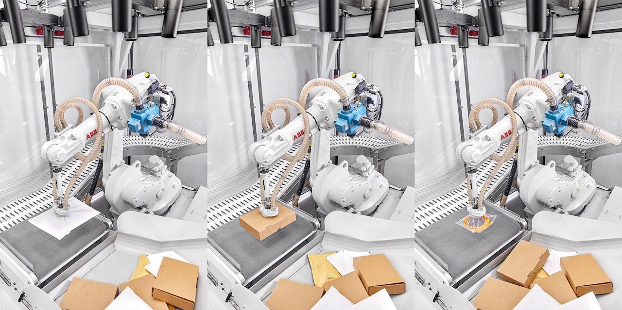 ABB robotai su