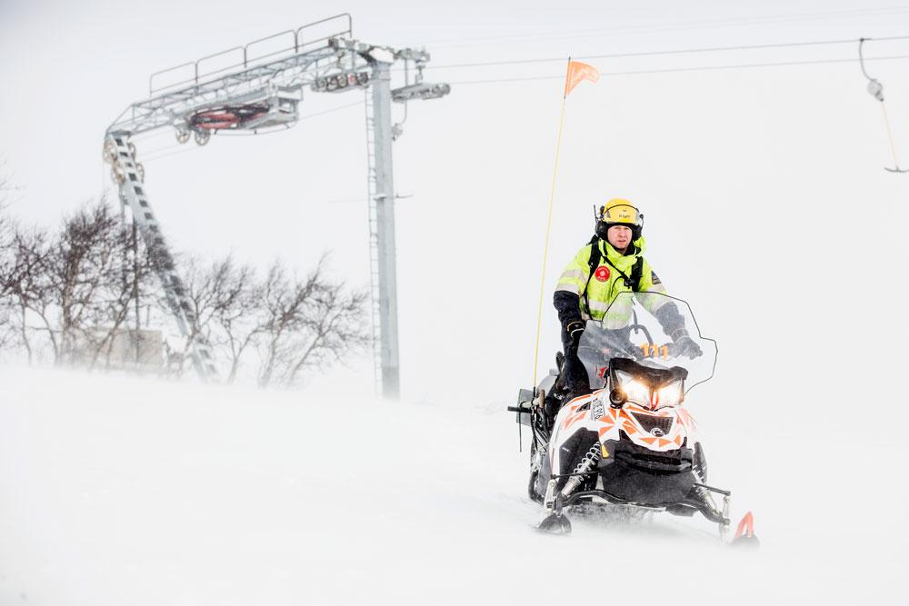 Johan Jarefors, El-ansvarig SkiStar Åre är en som valt ACS880 SkiTow tilll sin anläggning.