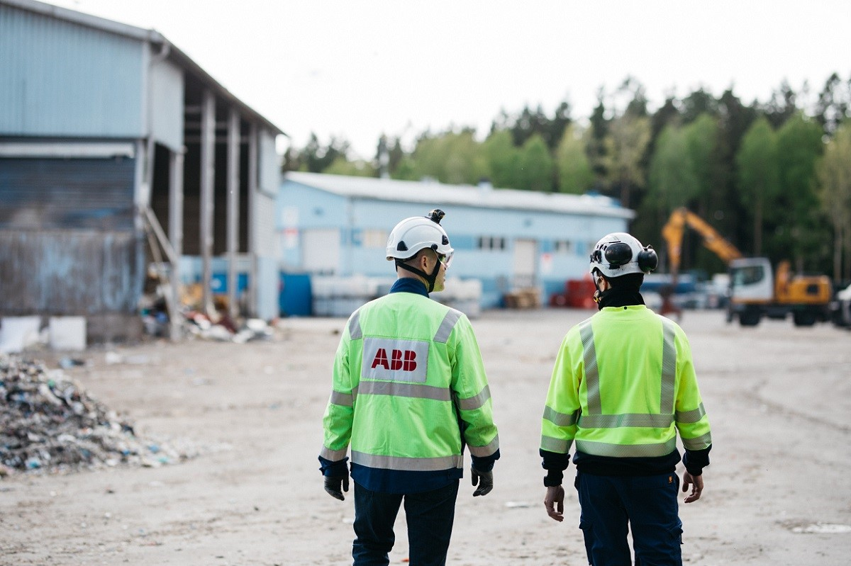 The availability stock service agreement between Lassila & Tikanoja and ABB safeguards the uninterrupted operation of the Turku recycling facility.