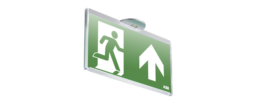 Escape route signalisation