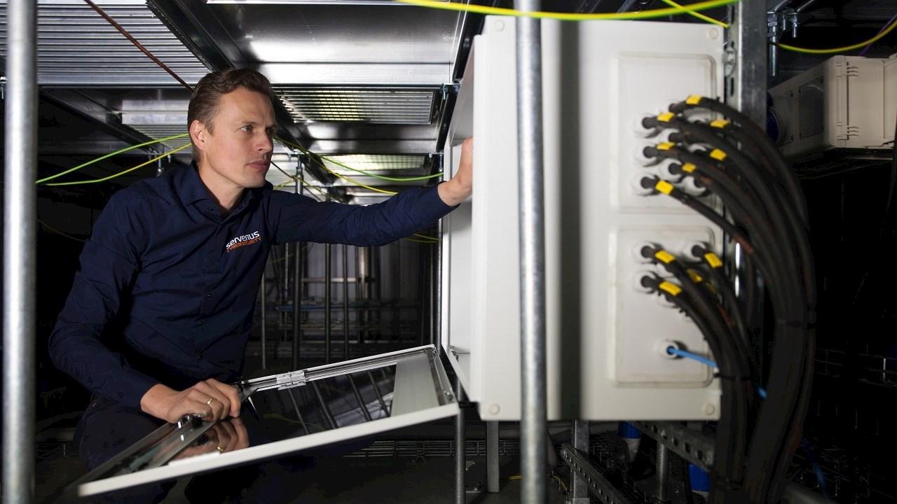 ABB fournit l'électrification du DataCenter Serverius