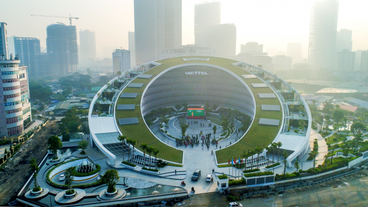 Viettel Group's new headquarter