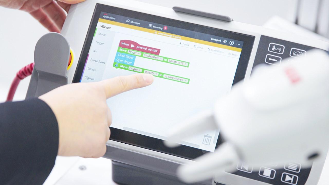 ABB机器人编程软件