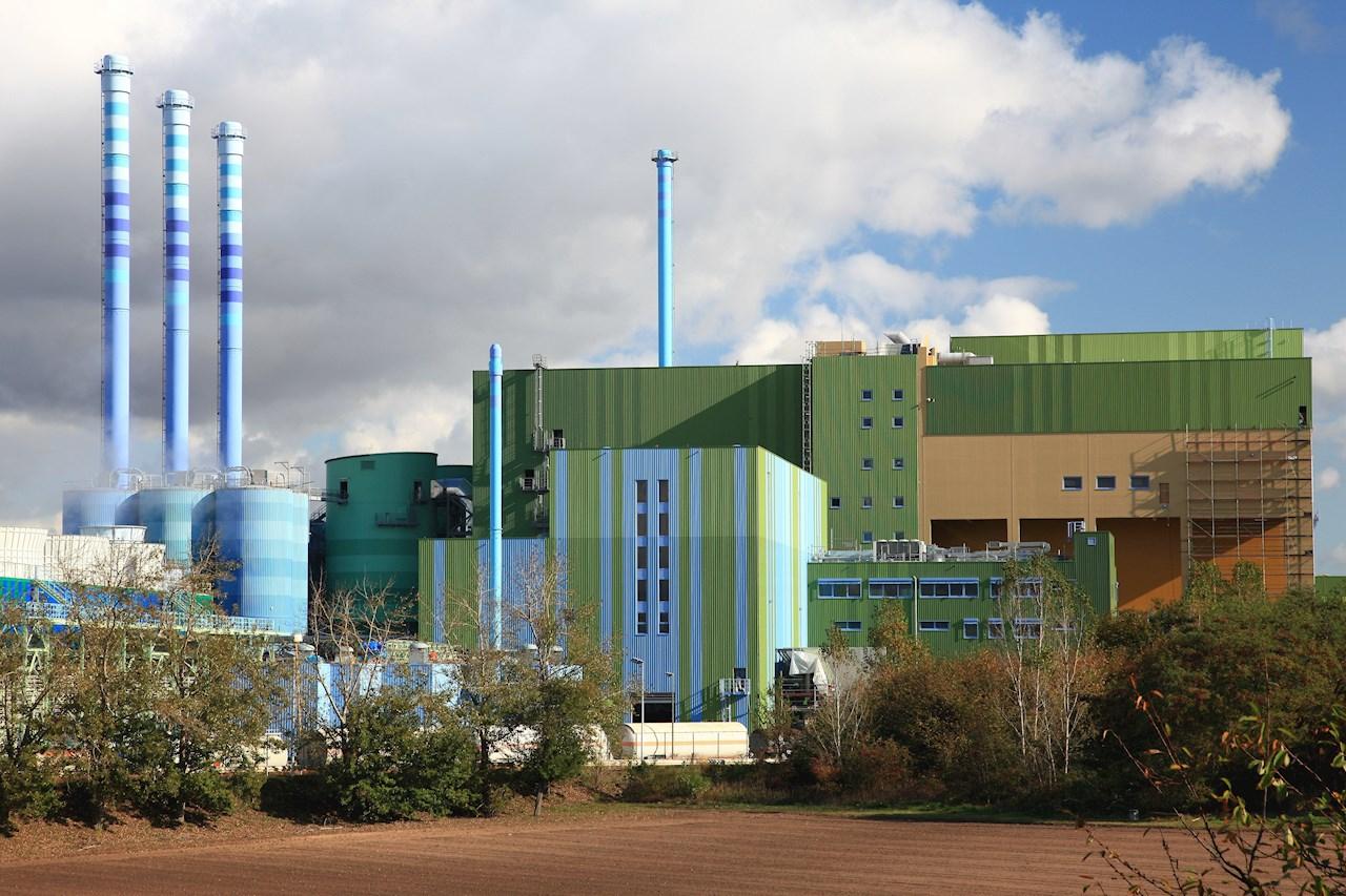 Die Ersatzbrennstoff-Verbrennungsanlage im Industriepark Höchst ist eine der größten ihrer Art in Deutschland.  (Quelle: Infraserv GmbH & Co. Höchst KG)