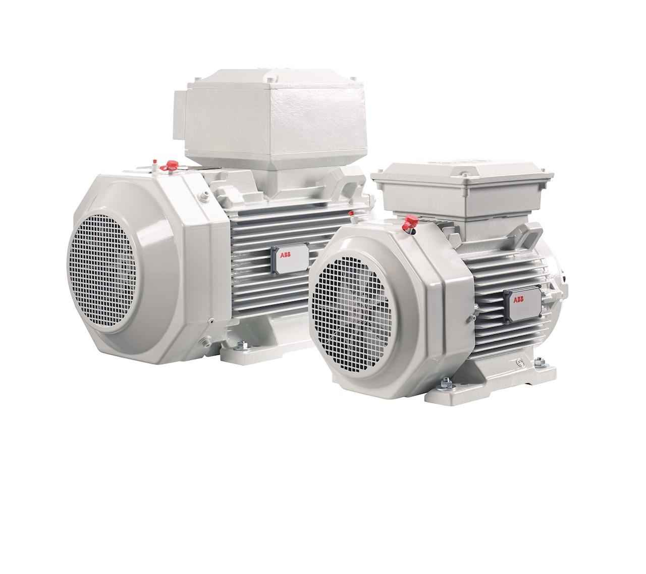 Der ABB Ability™ Smart Sensor für Motoren wird direkt am Motor befestigt. Das Multi-Sensor-System mit einer drahtlosen Kommunikationsschnittstelle sammelt und sendet präzise Messdaten. (Quelle: ABB)