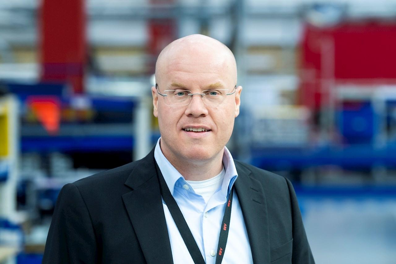 Tobias Hansson, Platschef på ABB Power Grids i Ludvika och Europachef för enheten Power Transformers