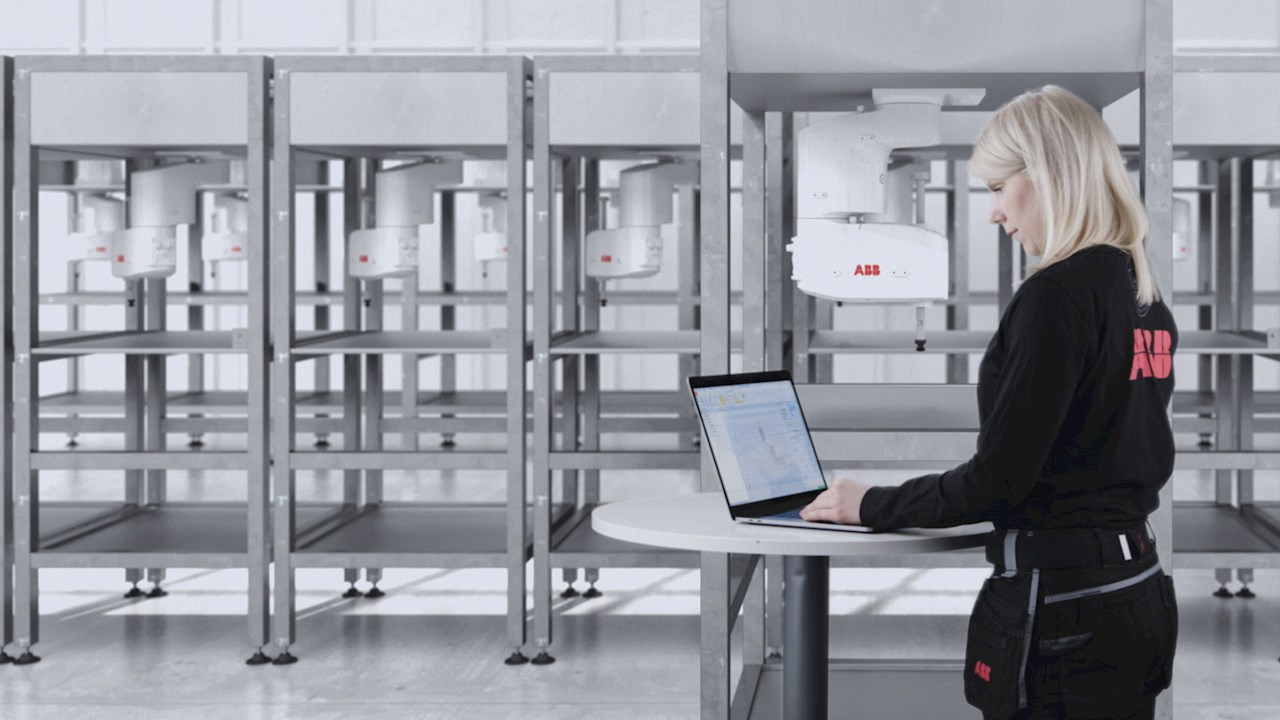 ABB expands RobotStudio® with ability to control SCARA robots from PC