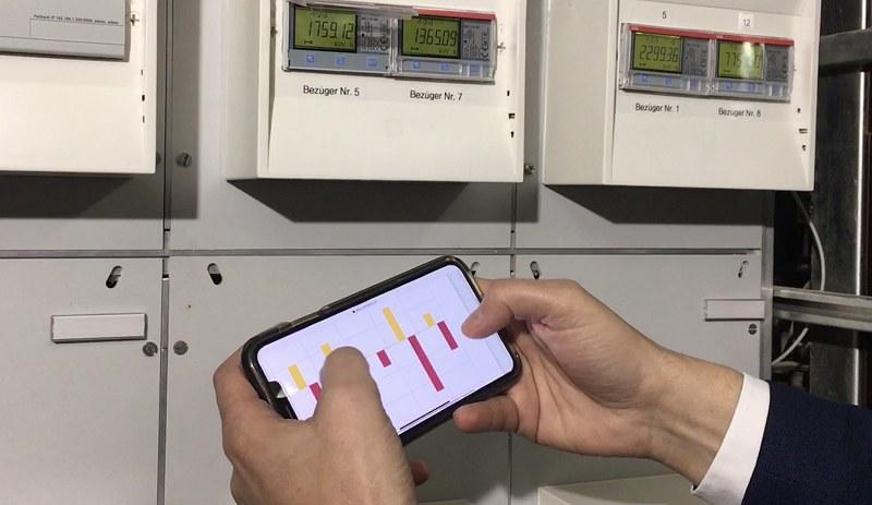 Die neue Lösung zeigt sämtliche Messdaten zum Stromverbrauch transparent und übersichtlich an, ohne dass sie vorher aufbereitet werden müssen.