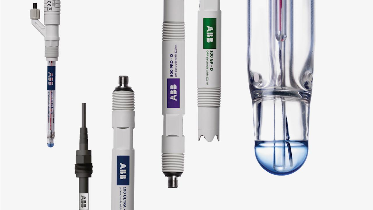 Neue pH-Sensoren von ABB mit einfachen Auswahlmöglichkeiten und erweiterten Analysefunktionen
