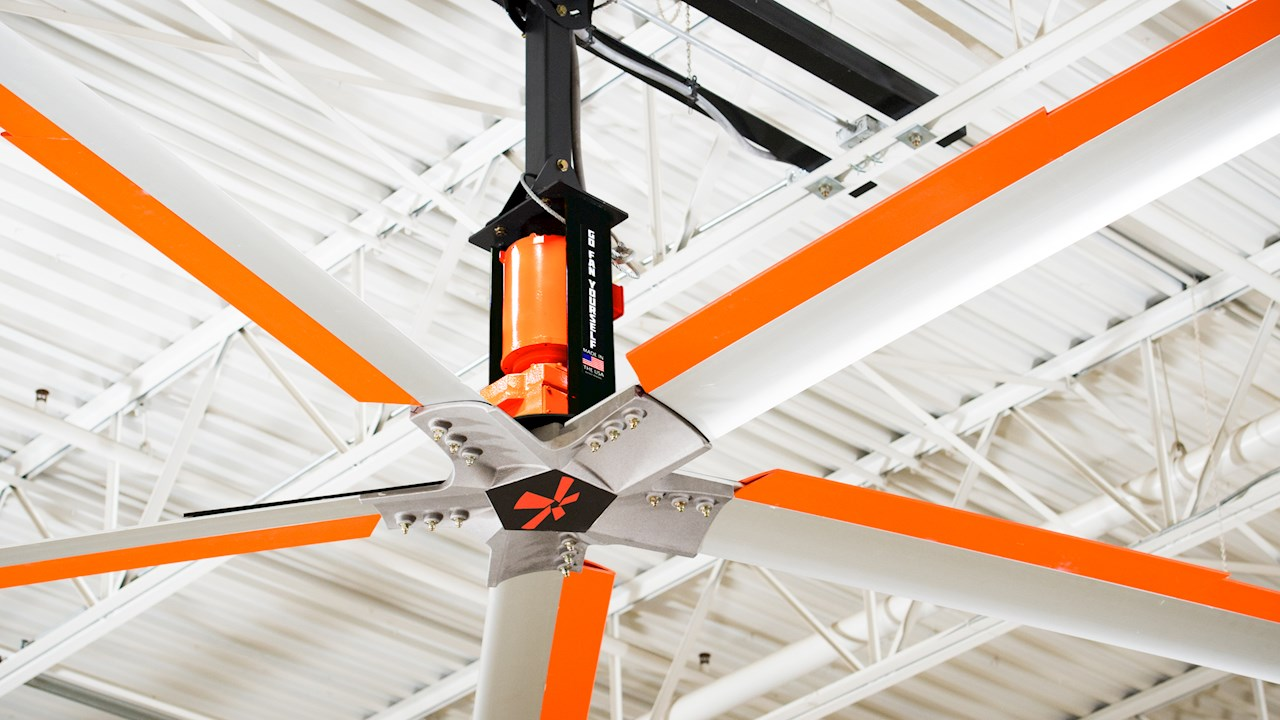 GFY Partners with ABB to Add a New Spin to HVLS Fans